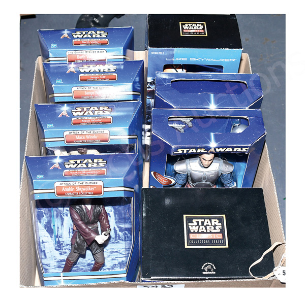 GRP inc Hasbro and Applause Star Wars toys