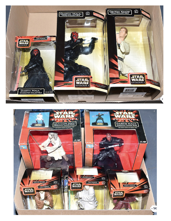 GRP inc Star Wars Toys: Applause Episode I Mega