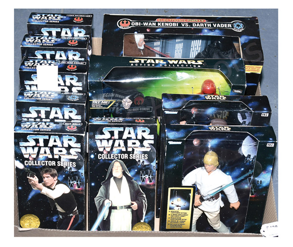 GRP inc Kenner Star Wars Action Figures