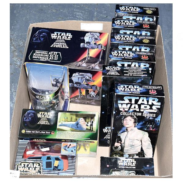 GRP inc Kenner/Hasbro Star Wars toys: (1) - (6)