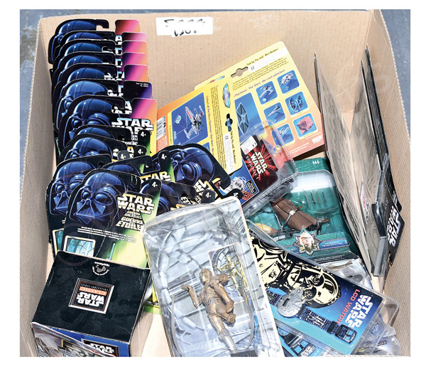 GRP inc Assorted Star Wars toys