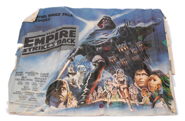 Star Wars Empire Strikes Back 1980 style B quad