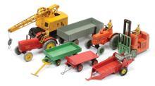 GRP inc Dinky Farm Vehicles - Massey Harris