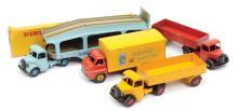 GRP inc Dinky unboxed Bedford Lorries - scarce