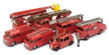GRP inc Dinky Fire Engines - 2 x Fire Engine