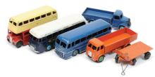 GRP inc Dinky smaller Commercials and Buses