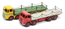 PAIR inc Dinky 8-Wheeled Flat Trucks with Chains