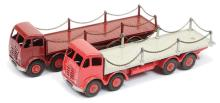 PAIR inc Dinky Flat Trucks with Chain Type