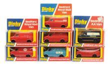 GRP inc Dinky Code 3 Bedford Vans ?Avis Truck