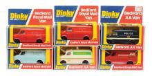 GRP inc Dinky Code 3 Bedford Vans ?Police?
