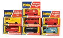 GRP inc Dinky Code 3 Bedford Vans ?Oxo?