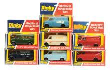 GRP inc Dinky Code 3 Bedford Vans ?Pickford?s?