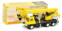 Dinky No.980 Coles Hydra 150T Crane Truck yellow