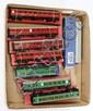 GRP inc Hornby Dublo 2-rail 8 x Coaches: 4054