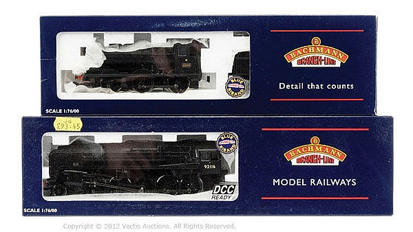 PAIR inc Bachmann OO Gauge 2 x Steam Outline
