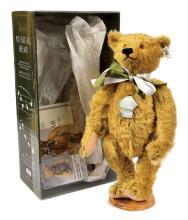 Steiff Harrods Musical Teddy Bear, 1991, white