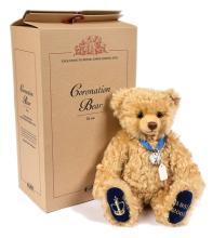 Steiff Coronation Bear, exclusive to Peter Jones