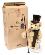 Steiff Teddy Bear Christmas Caroller, white tag
