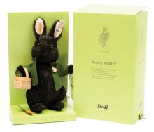 Beatrix Potter Black Rabbit, white tag 663451
