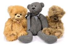 GRP inc Charlie Bears teddy bears: (1) Robbie