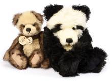 PAIR inc Charlie Bears pandas: (1) An-An puppet