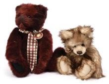 PAIR inc Charlie Bears plush teddy bears