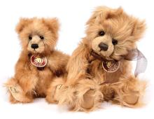 PAIR inc Charlie Bears teddy bears: (1) Imogen