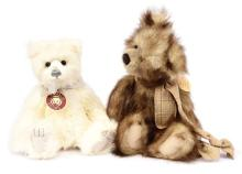 PAIR inc Charlie Bears teddy bears: (1) Niamh