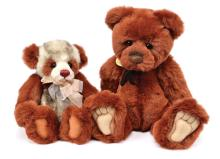 PAIR inc Charlie Bears teddy bears, designed