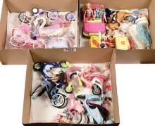 QTY inc Mattel Barbie Dolls, modern issue