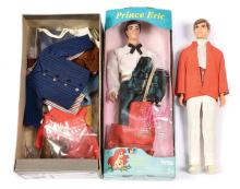 QTY inc Tyco and Mattel Prince Eric and Ken