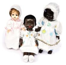 GRP inc Three dolls: (1) Pedigree black
