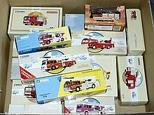 GRP inc Corgi Classics 1/50th scale Fire Engines