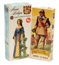 PAIR inc Airfix 1/12th Scale Historical Figures