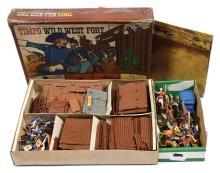 QTY inc Timpo - Set 259 - Wild West Fort Set