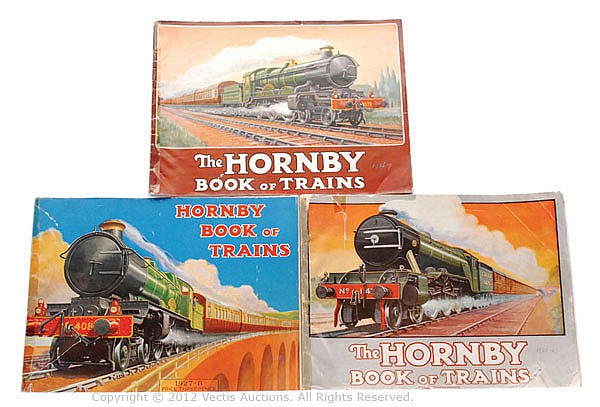 GRP The Hornby Book of Trains - 3 editions