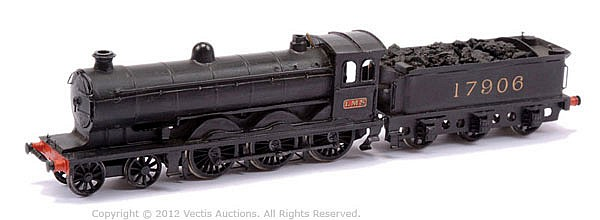 Constructed OO Gauge Kit with motor of a 4-6-0
