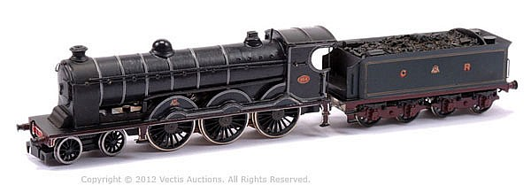 Constructed OO Gauge Kit with motor of a 4-6-2