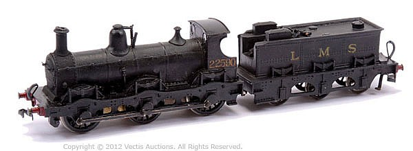 Constructed OO Gauge Kit with motor of an 0-6-0