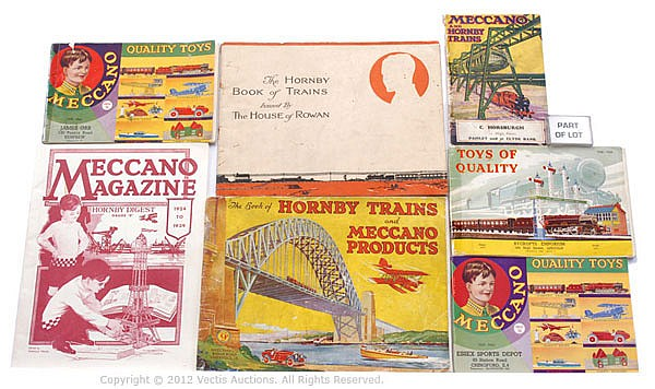 QTY Various Meccano/Hornby Publications