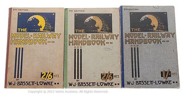 GRP inc Bassett-Lowke The Model Railway Handbook