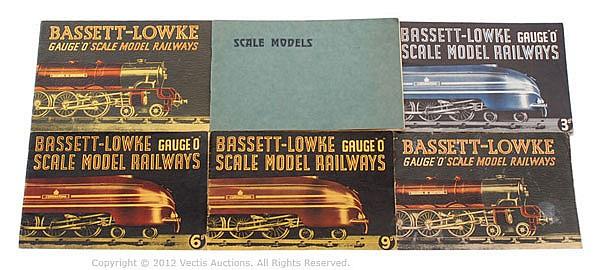 GRP Bassett-Lowke Scale Model Railways Catalogue