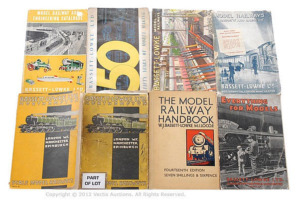 Bassett-Lowke various Catalogues/Publications