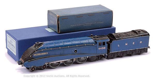 Hornby Dublo (pre-war) DL1 clockwork 4-6-2 LNER