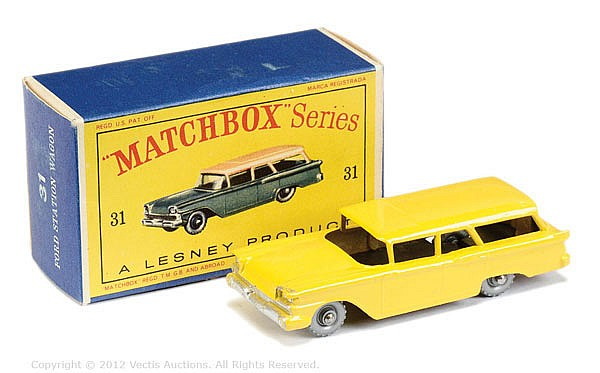 Matchbox Regular Wheels No.31B American Ford