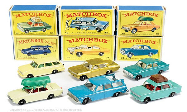 GRP inc Matchbox Regular Wheels No.33B Ford
