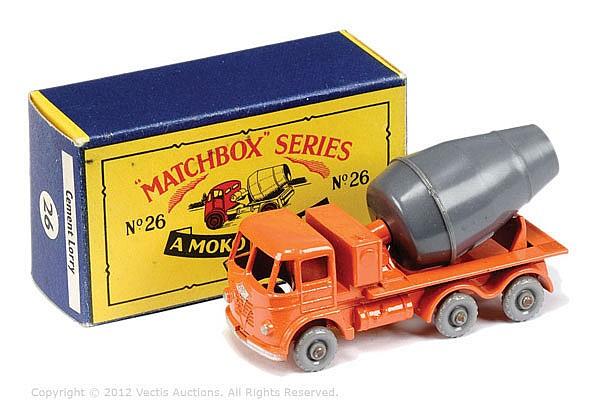 Matchbox Regular Wheels No.26B Foden Cement