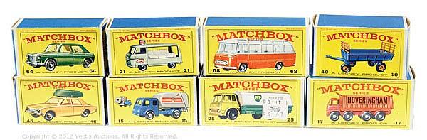 GRP inc Matchbox Regular Wheels type E boxes