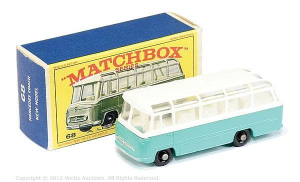 Matchbox Regular Wheels No.68B Mercedes Coach