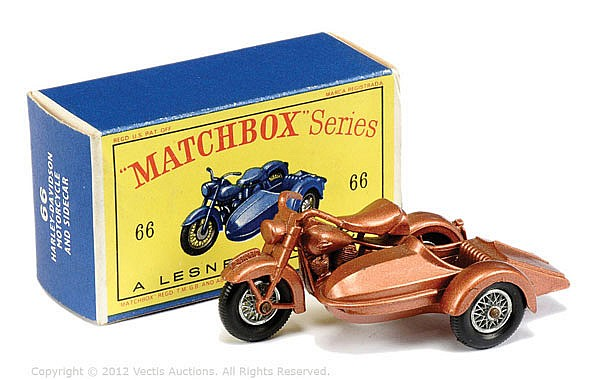 Matchbox Regular Wheels No.66B Harley Davidson